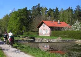 Schleuse am alten Kanal