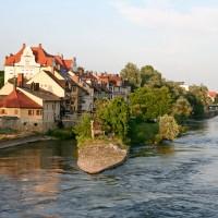 Donau bei Regensburg